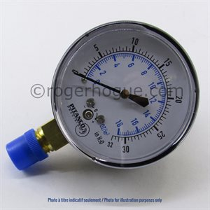 0-100''WC 2.5'' MANOMETER