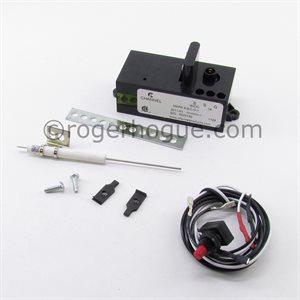 ALLUM. 9VDC RELIGHT (ELECTRODE ET BOUTON SPARK INCLUS)